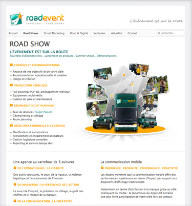 roadevent screen article